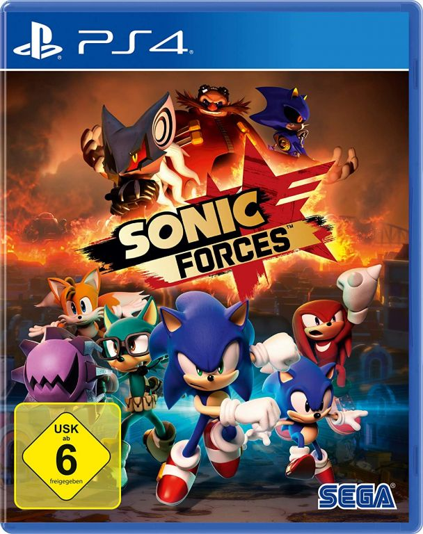 SONIC FORCES ps4 pkg - ISOSLAND : Games of the new generation