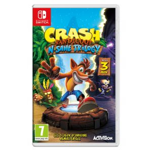 Crash Bandicoot N.sane Trilogy Switch