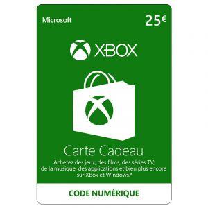 Xbox Live 25 Euros