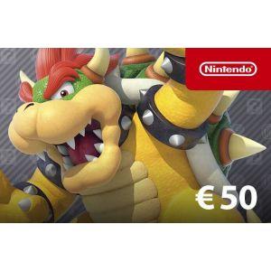 Nintendo Eshop 50 Euros