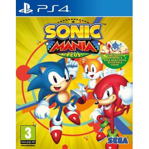 Sonic Mania Plus Artbook Ps4