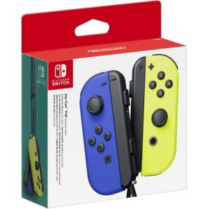 Nintendo Switch Joy Con Pair Bleu Et Jaune
