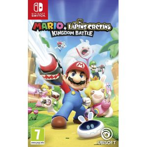 Mario + The Lapins Cretins Kingdom Battle Switch