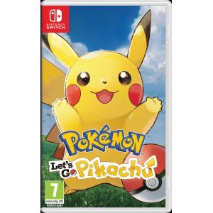 Pokemon Let S Go Pikachu Switch