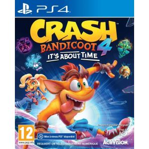 Crash Bandicoot It S About Time Ps4