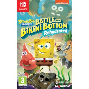Bob L Eponge Bataille Pour Bikini Bottom Rehydrate Switch