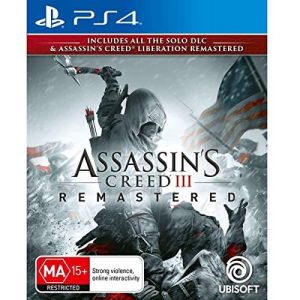 Assassin S Creed 3 Remastered Ps4