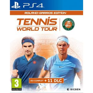 Tennis World Tour Roland Garros Ps4