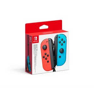 Nintendo Switch Joy Con Pair Rouge Et Bleu