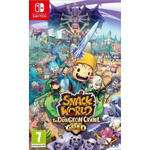 Snack World The Dungeon Crawl Gold Switch