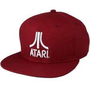 Casquette Atari Rouge Classic Logo