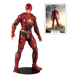 Dc Justice League Flash Figurine Articulee 18cm