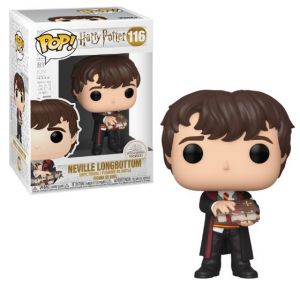 Pop Harry Potter Neville With Monster Book 116