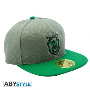 Casquette Harry Potter - Gris & Vert Serpentard