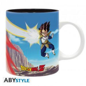 Dragon Ball Mug 320ml Dbz/goku Vs Vegeta
