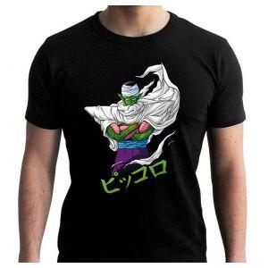T-shirt Dragon Ball Dbz/piccolo Homme Noir L