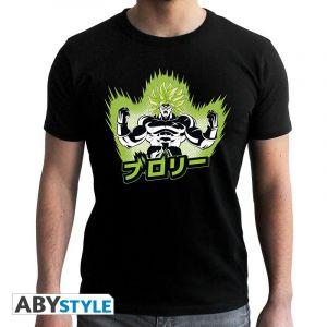 Dragon Ball Broly T Shirt Dsb/broly Homme Mc Black New Fit M