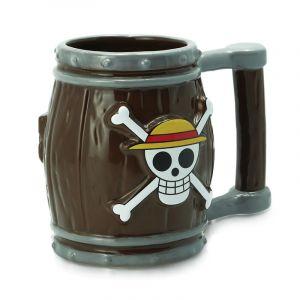 One Piece Mug 3d Tonneau 350ml