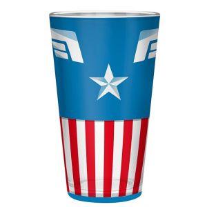 Marvel Verre Xxl 400ml Captain America