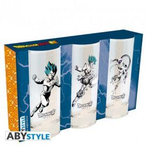 Dragon Ball Super Set De 3 Verres