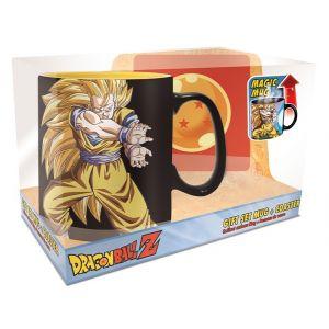 Dragon Ball Kamehameha St Mug Thermoreactif 460ml + Sous Verre