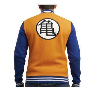 Dragon Ball Teddy Premium Kame Symbol Homme Orange/bleu Xxl