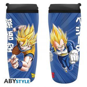 Dragon Ball Mug De Voyage Dbz/goku & Vegeta
