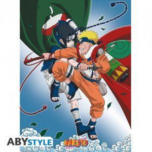 Naruto Poster Naruto Vs Sasuke 52x38
