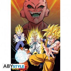 Dragon Ball Poster Dbz/buu Vs Saiyans 91.5x61