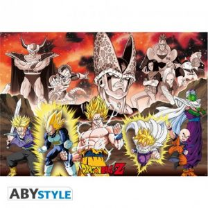 Dragon Ball Poster Dbz/groupe Arc Cell 91.5x61