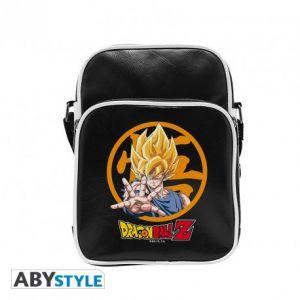 Dragon Ball Sac Besace Dbz/goku Vinyle Petit Format