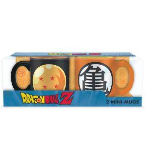Dragon Ball Set 2 Mini Mugs Boule De Cristal & Kame