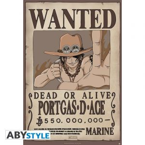 Poster One Piece Wanted Ace 91x61cm