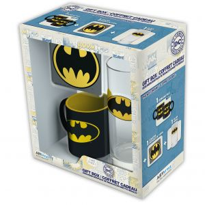Dc Comics Coffret Cadeau Batman - Glass+coaster+mini-mug