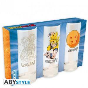 Dragon Ball Set De 3 Verres