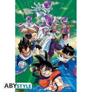 Dragon Ball Poster Arc Groupe Freezer 91.5x61