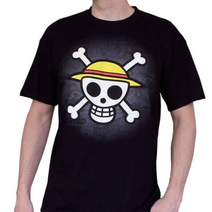 T-shirt One Piece Skull With Map S