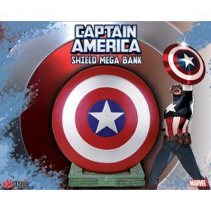 Marvel Bust Bank / Captain America Mega Bank 25cm