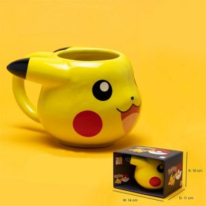 Pokemon 3d Mug 475ml Pikachu