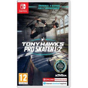 Tony Hawk S Pro Skter 1+2 Switch
