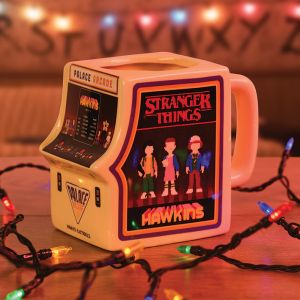 Mug 3d Stranger Things Arcade Machine 500ml