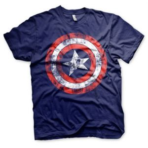 T-shirt Captain America Shield Taille S
