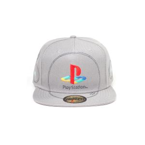 Casquette Playstation Silver Logo