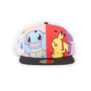 Casquette Pokemon Multi Pop Art