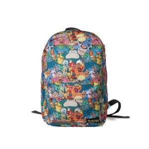 Sac A Dos Pokemon All Over Printed Characters