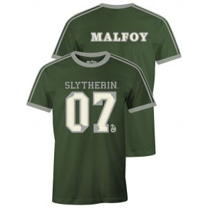 T-shirt Harry Potter Slytherin Malfoy S