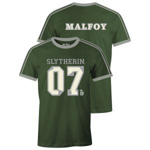 T-shirt Harry Potter Slytherin Malfoy S